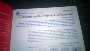 DIWUG SharePoint eMagazine #13